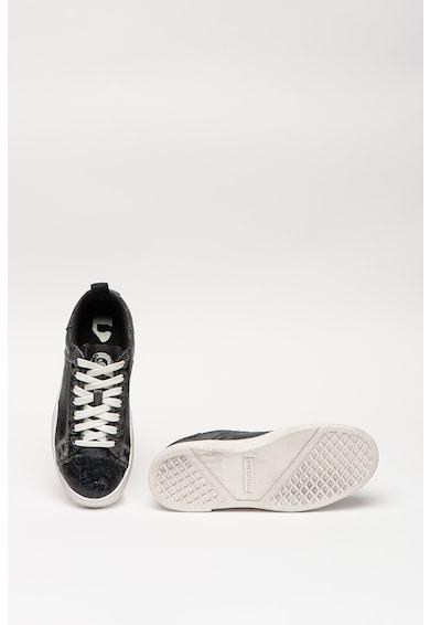 Diesel Pantofi sport de denim Clever Femei