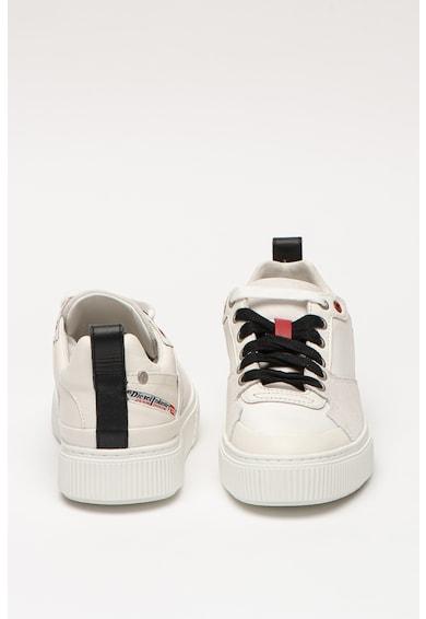 Diesel Pantofi sport din piele cu insertii din piele intoarsa ecologica S-Danny Femei