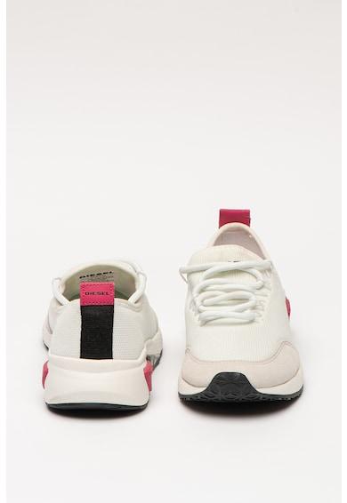 Diesel Pantofi sport din plasa cu insertii din piele intoarsa ecologica S-Kb Femei