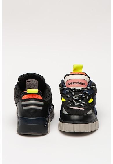 Diesel Pantofi sport de piele si material textil Rua Femei