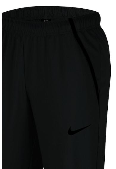 Nike Pantaloni sport cu banda elastica in talie si tehnologie Dri-Fit, pentru fitness Barbati