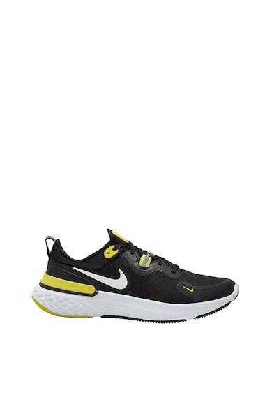 Nike Pantofi cu detalii reflectorizante,pentru alergare React Miler Barbati