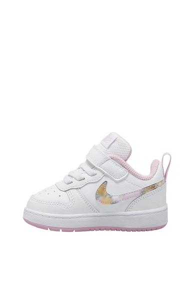 Nike Pantofi sport din piele Court Borough Low 2 Fete