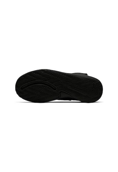 Nike Pantofi sport cu banda velcro Team Hustle D 9 FlyEase Fete