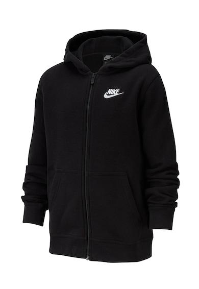 Nike Hanorac cu fermoar si logo Club Fete