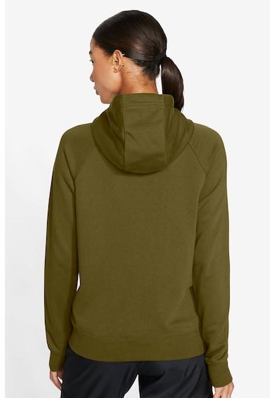 Nike Hanorac cu fermoar si broderie logo Essential Femei