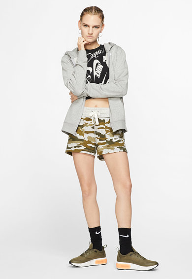 Nike Hanorac cu fermoar si logo Sportswear Club Femei