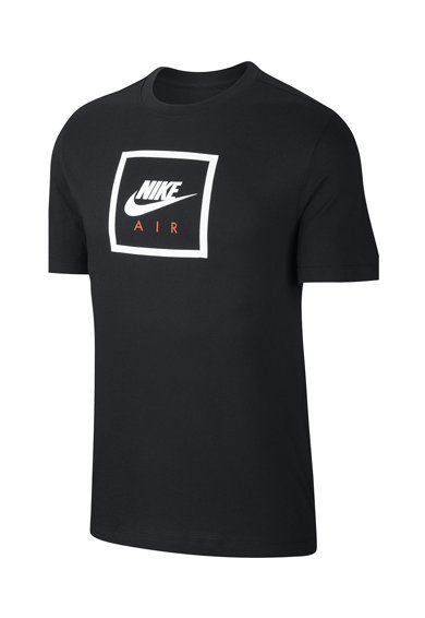 Nike Tricou cu decolteu la baza gatului si imprimeu logo Sportswear Barbati