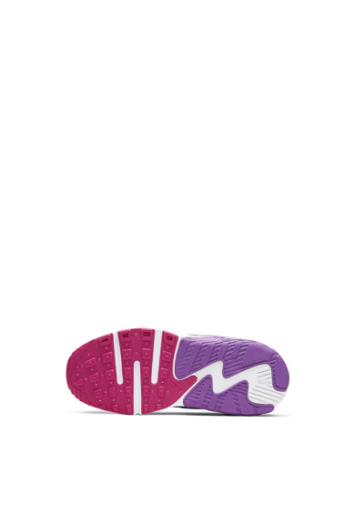 Nike Pantofi sport din plasa cu garnituri din piele si piele intoarsa Air Max Excee Fete