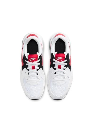 Nike Air Max Excee párnázott sneaker bőrszegélyekkel Lány
