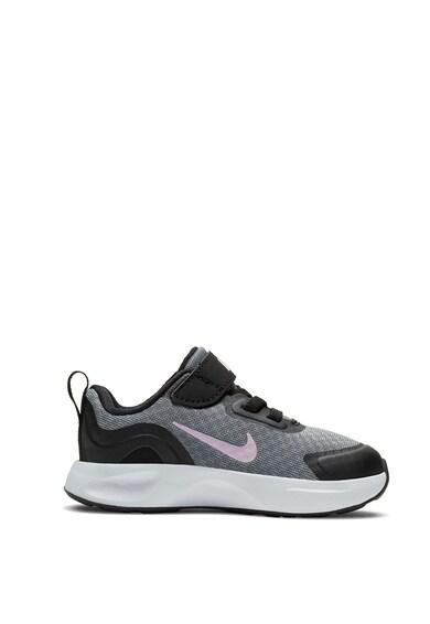 Nike WearAllDay hálós sneaker tépőzárral Lány