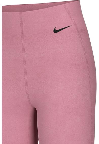 Nike Colanti cu talie inalta si tehnologie Dri-Fit, pentru fitness Sculpt Victory Femei