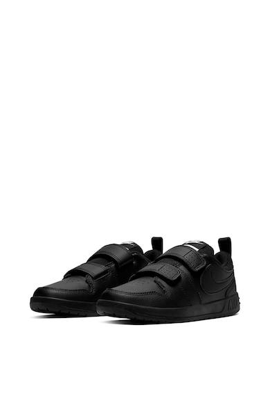 Nike Pantofi din piele, cu velcro, Pico 5, Negru Fete