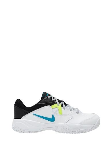 Nike Pantofi cu garnituri de piele, pentru tenis Court Lite 2 Barbati