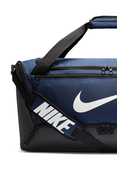 Nike Geanta duffle unisex cu logo peliculizat, pentru fitness Brasilia - 60L Femei