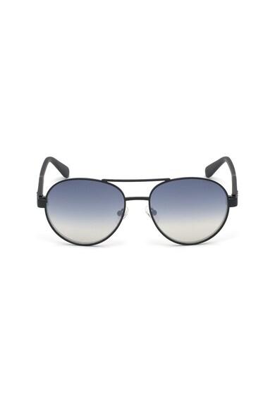 Guess Ochelari de soare aviator rotunzi cu lentile polarizate Barbati