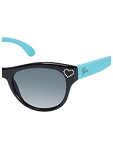 Guess Colorblock dizájnú polarizált napszemüveg strasszköves részlettel Lány
