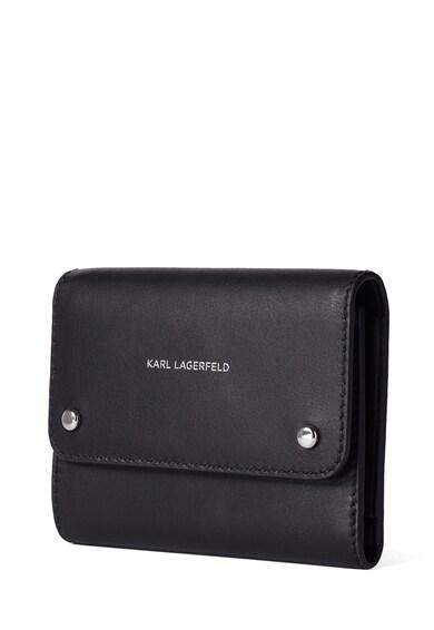 Karl Lagerfeld Portofel de piele Ikon Femei