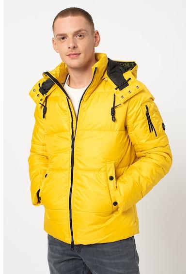 Tom Tailor Vízlepergető steppelt télikabát férfi