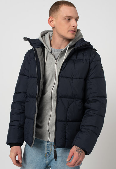 Tom Tailor Steppelt télikabát kapucnival férfi