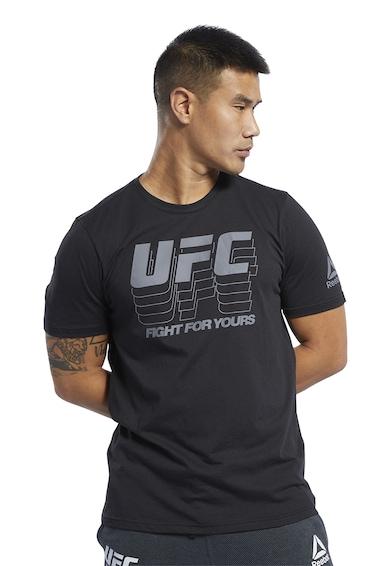 Reebok Tricou slim fit, adecvat pentru arte martiale UFC FG Barbati