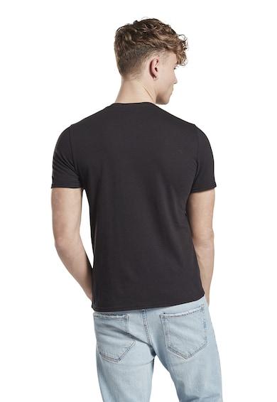 Reebok Tricou slim fit cu imprimeu logo Ufc Barbati