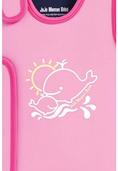 JoJo Maman Bebe Costum de baie intreg cu imprimeu grafic Fete