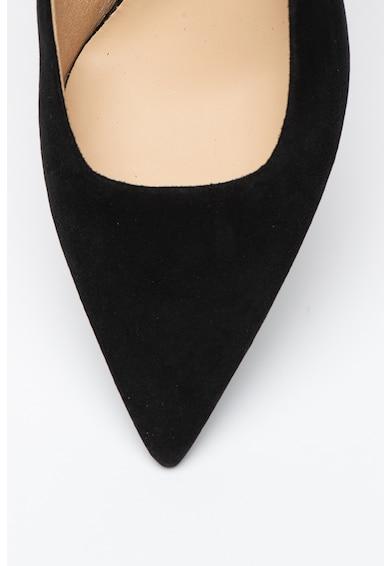 Furla Pantofi de piele intoarsa cu toc kitten si varf ascutit Code Femei
