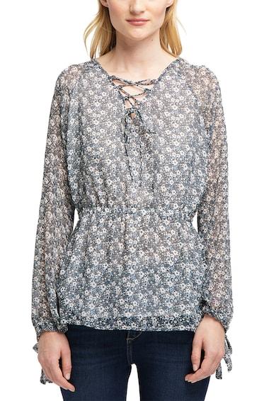 Mustang Bluza cu imprimeu floral, cu talie cambrata Femei