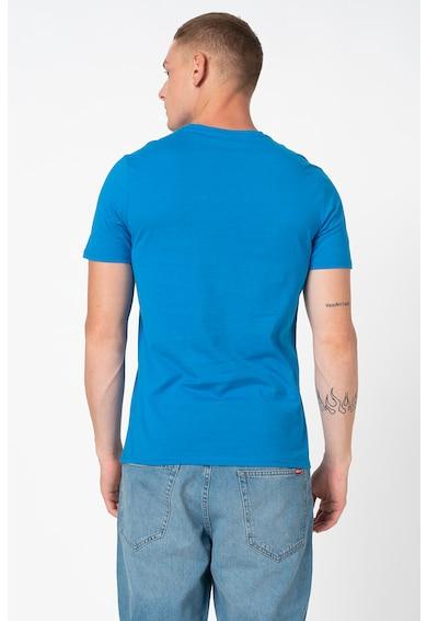 GUESS JEANS Kerek nyakú póló logómintával C férfi