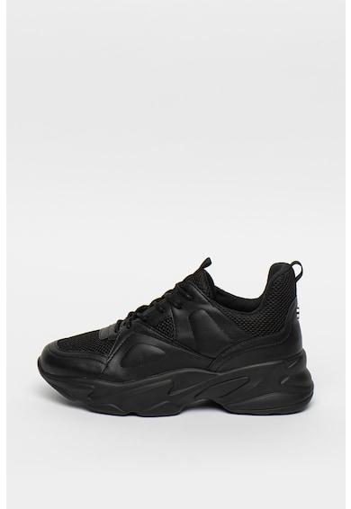 Steve Madden Pantofi sport cu insertii din piele ecologica Movement Femei