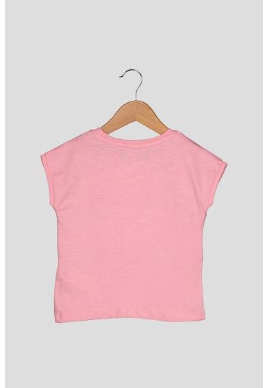 DESIGUAL Póló fémes hatású részletekkel Lány