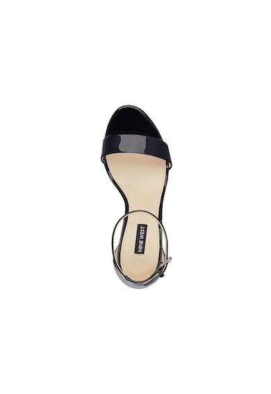 NINE WEST Sandale de piele lacuita Abigail Femei