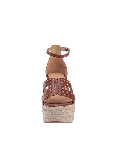 NINE WEST Sandale wedge tip espadrile din piele Alina Femei