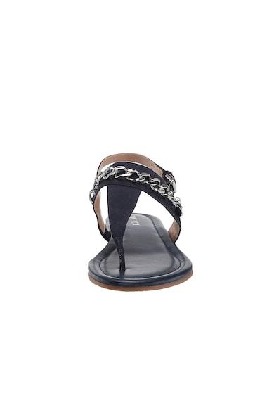 NINE WEST Sandale cu bareta separatoare si detaliu lant Bristol Femei