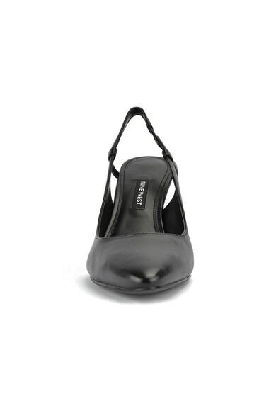 NINE WEST Pantofi stiletto de piele cu bareta slingback Everyth Femei