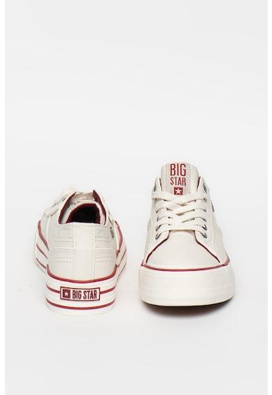 Big Star Pantofi sport flatform din piele ecologica cu logo Femei