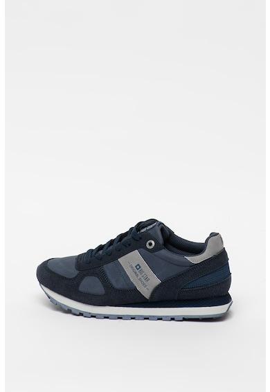 Big Star Pantofi sport de piele intoarsa ecologica si material textil Femei
