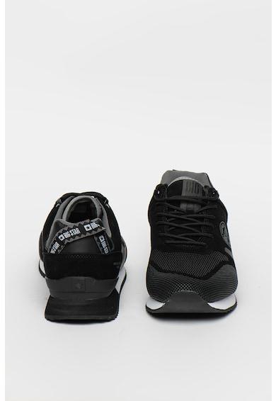Big Star Pantofi sport cu garnituri de piele intoarsa Barbati