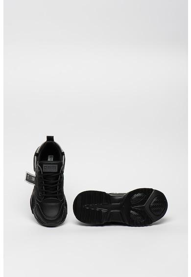 Big Star Műbőr sneaker logós pántokkal női