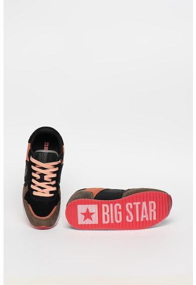 Big Star Pantofi sport cu garnituri de piele intoarsa Femei