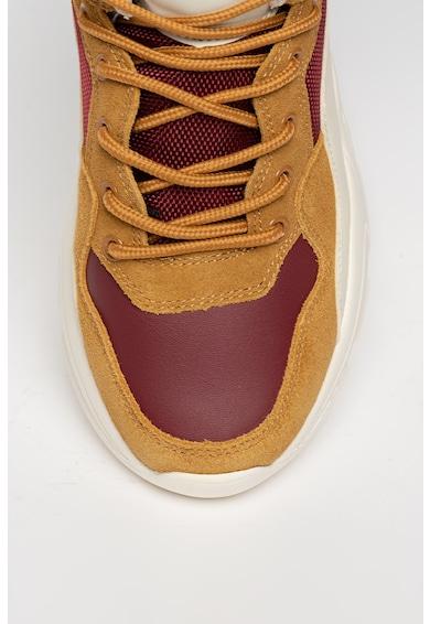 Big Star Pantofi sport colorblock cu garnituri de piele intoarsa Femei