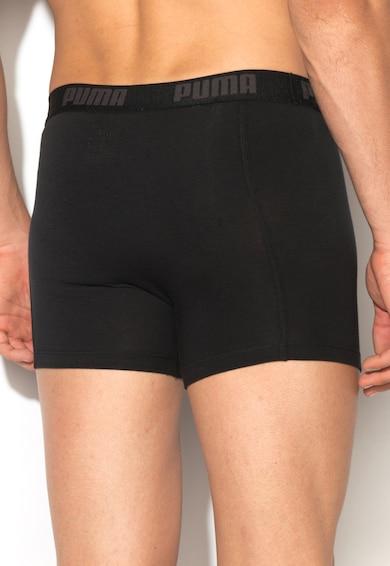 Puma Комплект черни боксерки - 2 чифта Мъже
