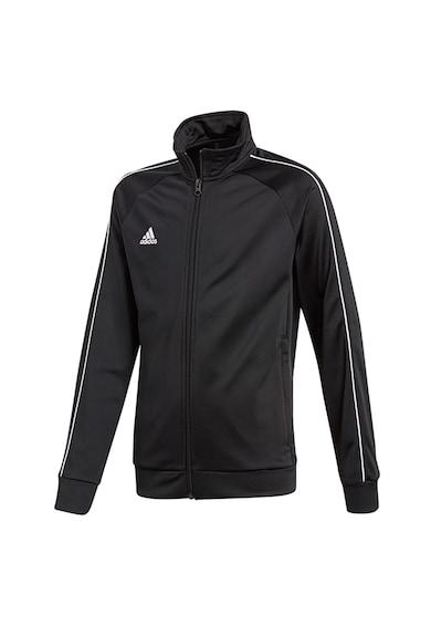 adidas Performance Bluza sport cu fermoar, pentru fotbal Core18 Fete