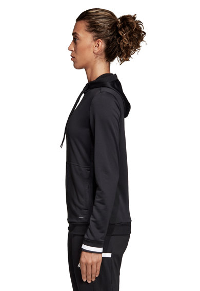 adidas Performance T19 kapucnis futball felső női