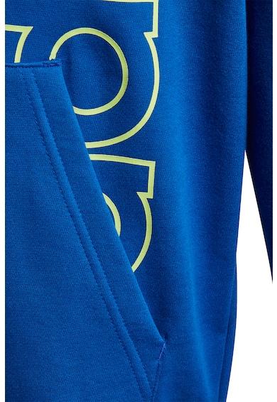adidas Performance Hanorac cu imprimeu logo si buzunar kangaroo Baieti
