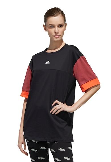 adidas Performance Tricou de bumbac cu detaliu logo New Femei