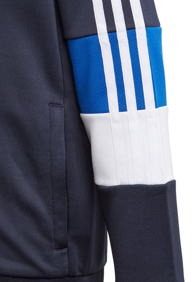 adidas Performance Hanorac regular fit pentru fitness 3 Stripes Baieti