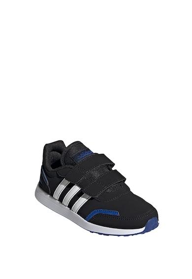 adidas Performance Pantofi sport de piele ecologica, cu velcro VS Switch 3 Fete