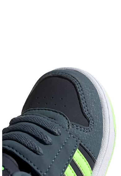 adidas Performance Pantofi sport mid-high de piele ecologica Hoops 2.0 Fete